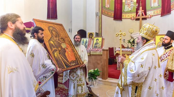 (Δελτίο Τύπου) Πανηγυρική Αρχιερατική Θεία Λειτουργία εις τον Ιερό ναό Αγ. Ραφαήλ, Νικολάου και Ειρήνης