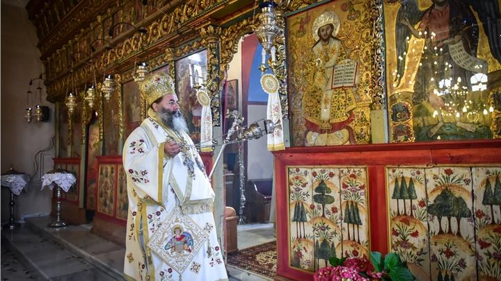 (Δελτίο Τύπου) Πανηγυρική Αρχιερατική Θεία Λειτουργία επί τη Ιερά Μνήμη του Αγ. Ενδόξου Μεγαλομάρτυρος Γεωργίου του Τροπαιοφόρου