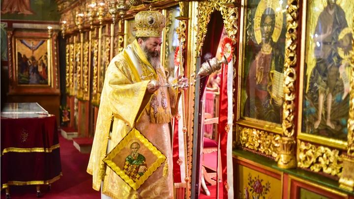 (Δελτίο Τύπου) Πανηγυρική Αρχιερατική Θεία Λειτουργία επί τη Ιερά Μνήμη του Αγ. Αθανασίου