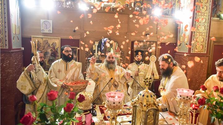 (Δελτίο Τύπου) Κυριακή των Αγίων  Μυροφόρων Γυναικών εις τον Ιερό ναό Κοιμήσεως της Θεοτόκου - Λαγκαδά