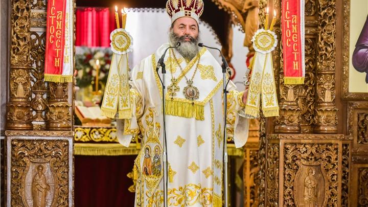(Δελτίο Τύπου) Αρχιερατική Θεία Λειτουργία εις τον Ιερό ναό Κοιμήσεως της Θεοτόκου - Περιβολακίου