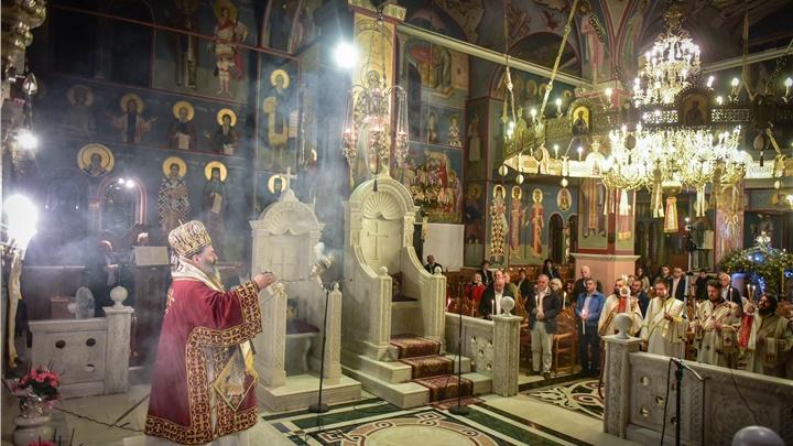 (Δελτίο Τύπου) Ιερά Αγρυπνία επί τη εορτή της Αποδόσεως του Πάσχα εις την Ιερά Μητρόπολη Λαγκαδά