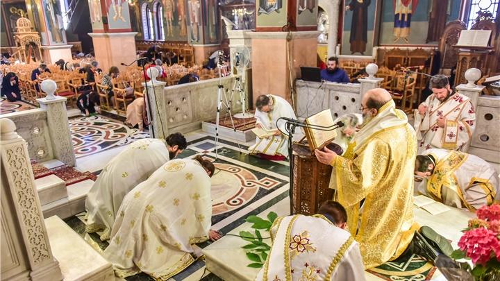 (Δελτίο Τύπου) Η εορτή της Πεντηκοστής εις την Ιερά Μητρόπολη Λαγκαδά, Λητής και Ρεντίνης
