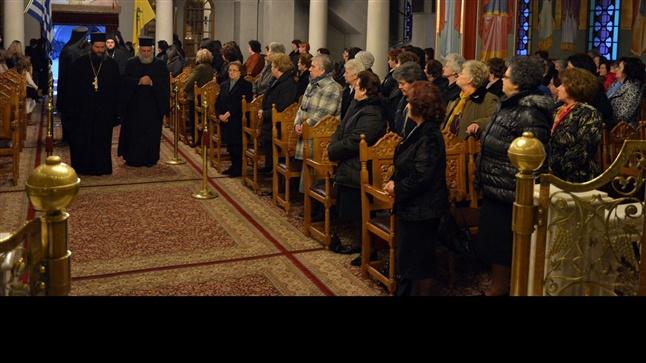 (Δελτίο Τύπου) Γ΄ Κατανυκτικός Εσπερινός είς τον Ιερό Ναό Αγίου Νικολάου - Λαγυνών