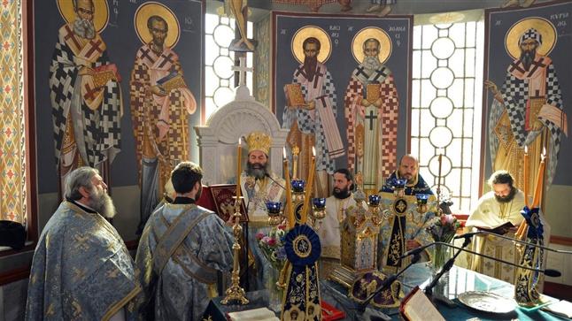 (Δελτίο Τύπου) Αρχιερατική Θεία Λειτουργία επί τη εορτή του Ευαγγελισμού της Θεοτόκου