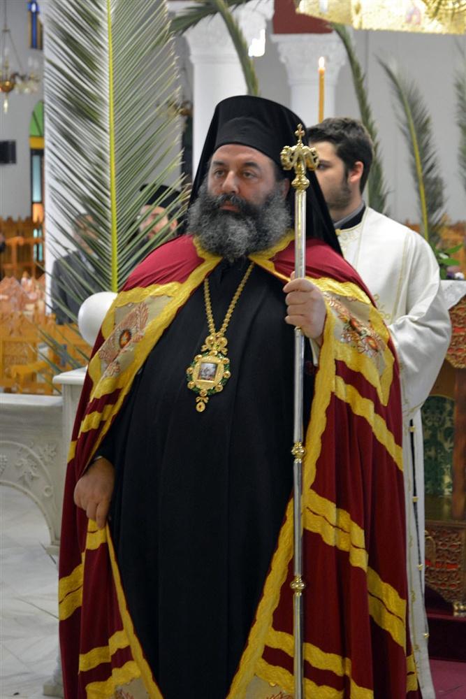 - (Δελτίο Τύπου) Αρχιερατική Θεία Λειτουργία επί τη εορτή της εις Ιερουσαλήμ Εισόδου του Κυρίου ημών Ιησού Χριστού