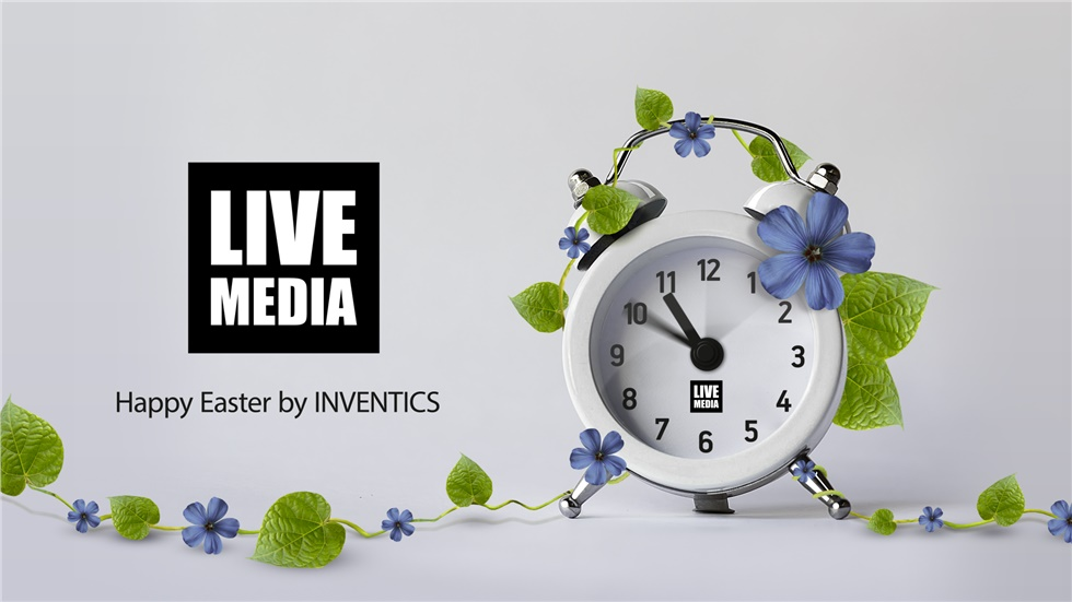 Make your time count! Happy Easter by Inventics