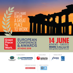 The Great Place to Work® Annual European Awards 2018