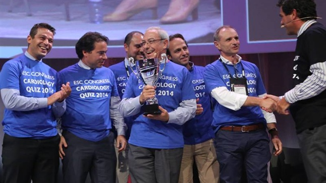 The Greek team from Thessaloniki came first at the ESC Cardiology Quiz