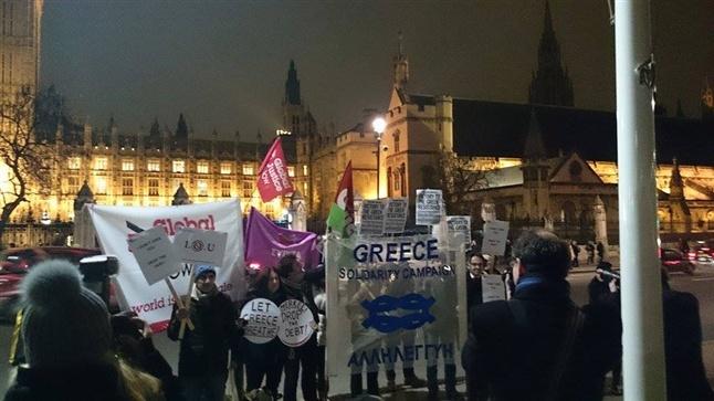 Το «Κίνημα της Αξιοπρέπειας» ξανά στους δρόμους του Λονδίνου