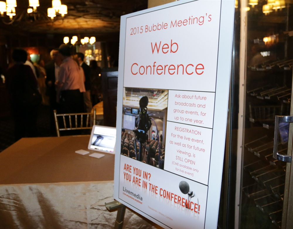 Bubble Conference Reception