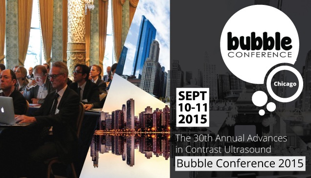 Congresses | The 30th Annual Advances in Contrast Ultrasound - Bubble Conference 2015, The Drake Hotel, Chicago