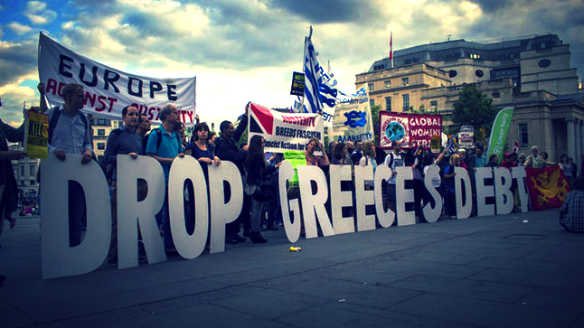 London | Solidarity with Greece!