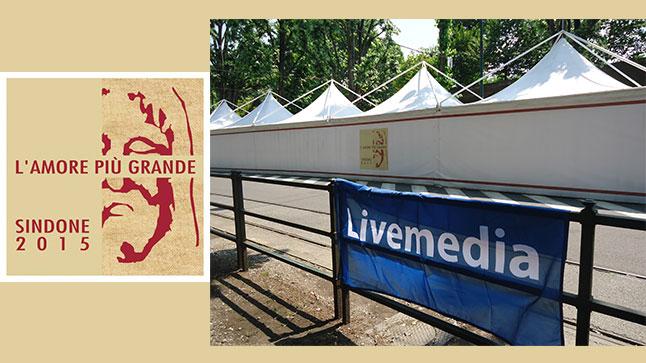 Το Livemedia στην Ιερά Σινδόνη