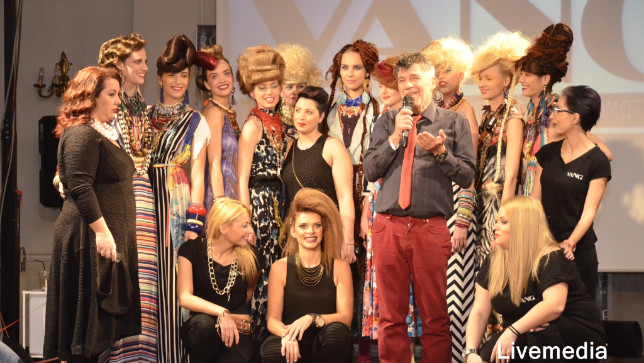 20th Balkan Festival of hairdressing and makeup