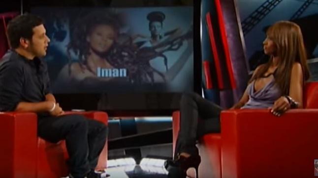 Η Iman ξεδιπλώνει τη ζωή της στον Έλληνα host George Stroumboulopoulos