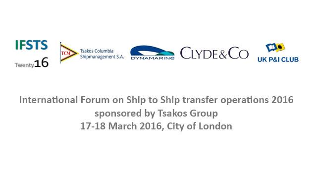 International Forum on Ship to Ship transfer operations 2016
