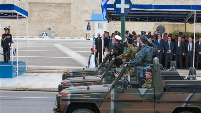 Παρέλαση  Αθήνα   25η Μαρτίου 2016