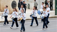 School Parade   Athens   March 25th 2016