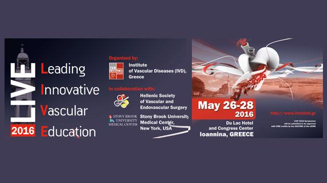 LIVE 2016 – Leading Innovative Vascular Education