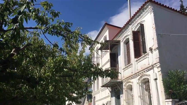 Streets and Buildings from another era in Xanthi.