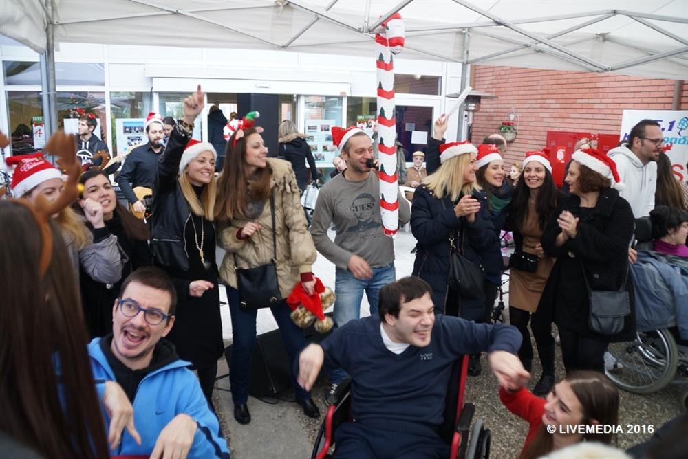 1ο Live Party για τη Χριστουγεννιάτικη Εορταγορά της Εταιρείας Σπαστικών Βορείου Ελλάδος