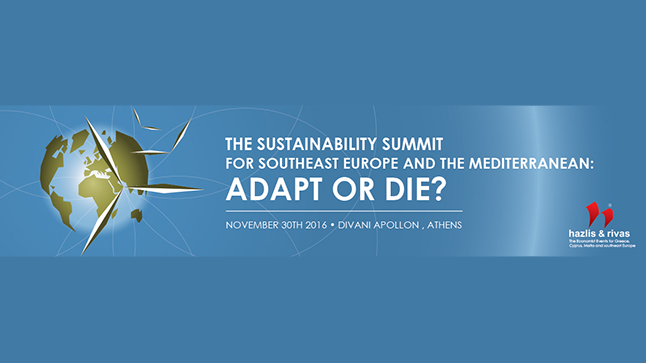 Events | THE SUSTAINABILITY SUMMIT  FOR SOUTHEAST EUROPE AND THE MEDITERRANEAN