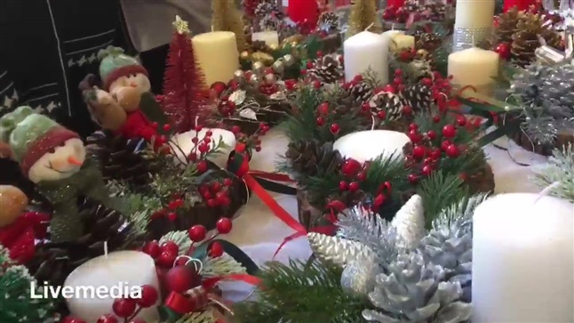 Χριστουγεννιάτικο Bazaar του Συλλόγου Παιδικές Καρδιές Β. Ελλάδος