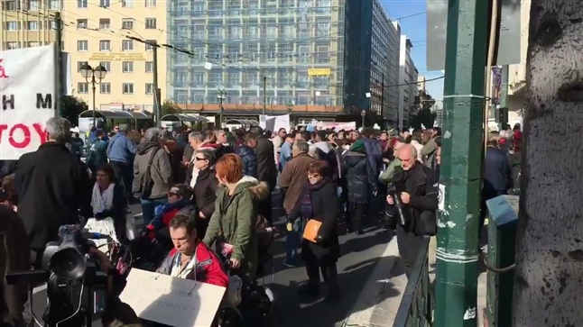 March in Athens for people with disabilities