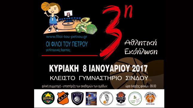 3η Αθλητική Εκδήλωση 8-1-2017 |
