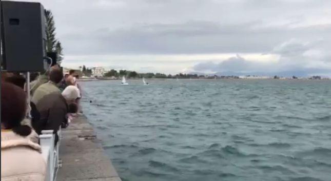Πλήθος κόσμου γιόρτασε τα Θεοφάνεια και τον αγιασμό των υδάτων στον Ωρωπό