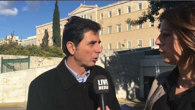 Κοnstantinos Gioulekas, MP A' Thessaloniki talks on Livemedia