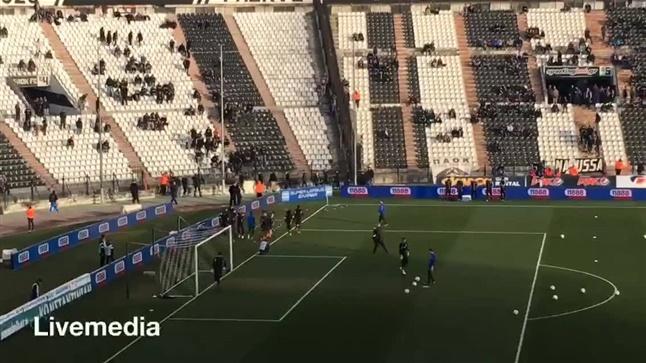 Το Livemedia στην Τούμπα για την διεξαγωγή του παιχνιδιού ΠΑΟΚ...