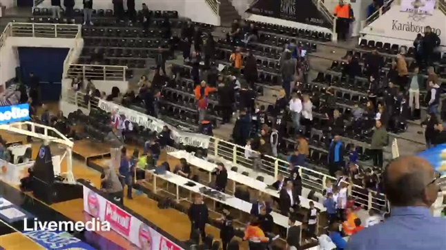 PAOK Kimi on the 22nd day of Stoiximan.gr Basket League in Paok...