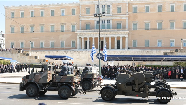 Army Parade | Athens | March 25th 2017