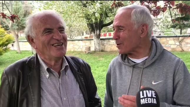Γιώργος Παρχαρίδης και Κούλης Αποστολίδης στο Livemedia