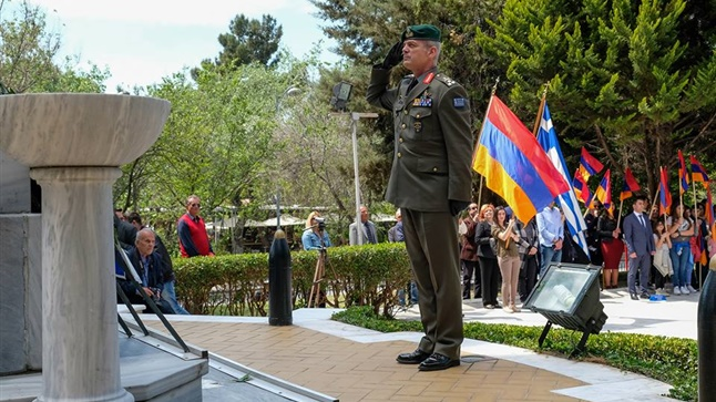 Commemoration of the 102nd Anniversary of the Armenian Genocide...