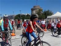 Ορθοπεταλιές… του Ελληνικού Ερυθρού Σταυρού στη γιορτή του εθελοντισμού