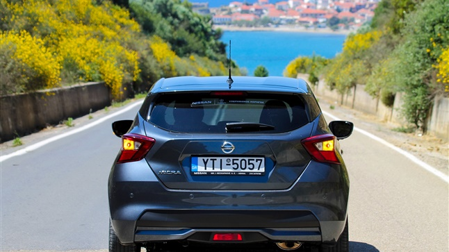 Traveling with the new Nissan Micra 1.5 dci