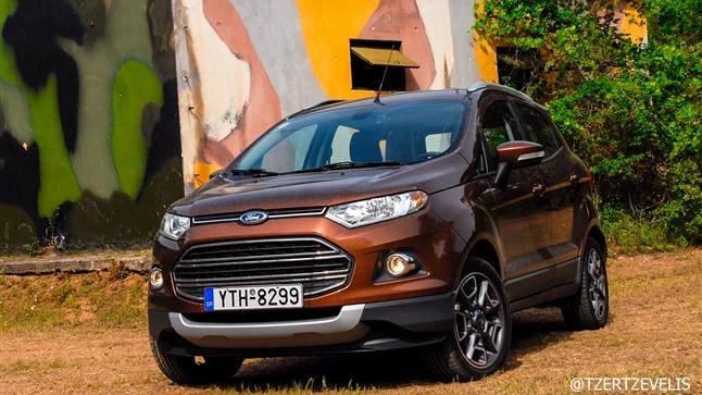 Ford EcoSport 1.5 TDCi: Δυναμικό και ευρύχωρο!