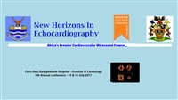 New Horizons in Echocardiography Johannesburg | 9th Annual conference