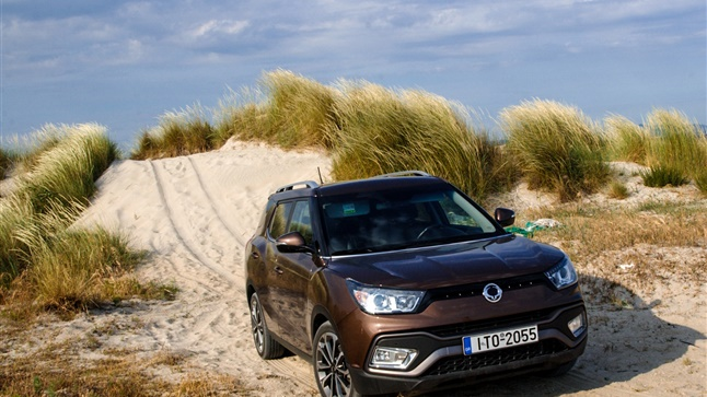 With XLV SSANGYONG: Ground paradises require large SUVs!