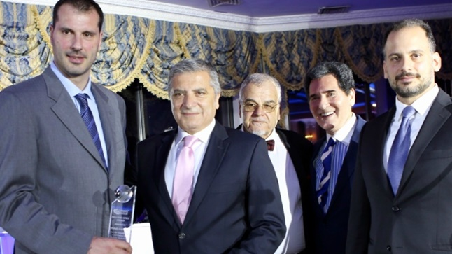 G. Patoulis was present at the honorary award of athlete Giannis...