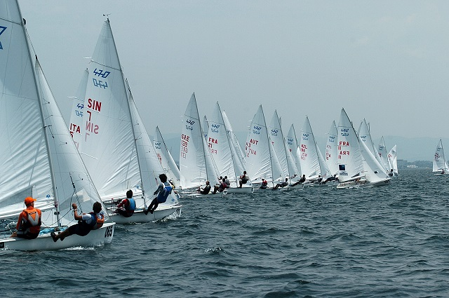 The countdown for the World Sailing Championship