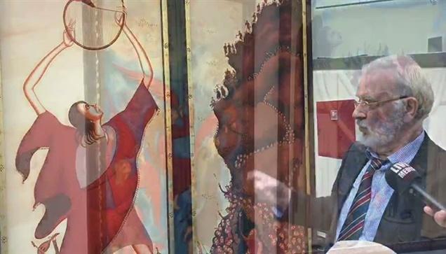 Εικαστική έκθεση με τον τίτλο «Ορφικόν φως» του ζωγράφου Ιωάννη Μητράκα