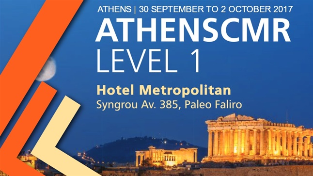 Congresses | ATHENSCMR LEVEL 1 | 30 September - 2 October