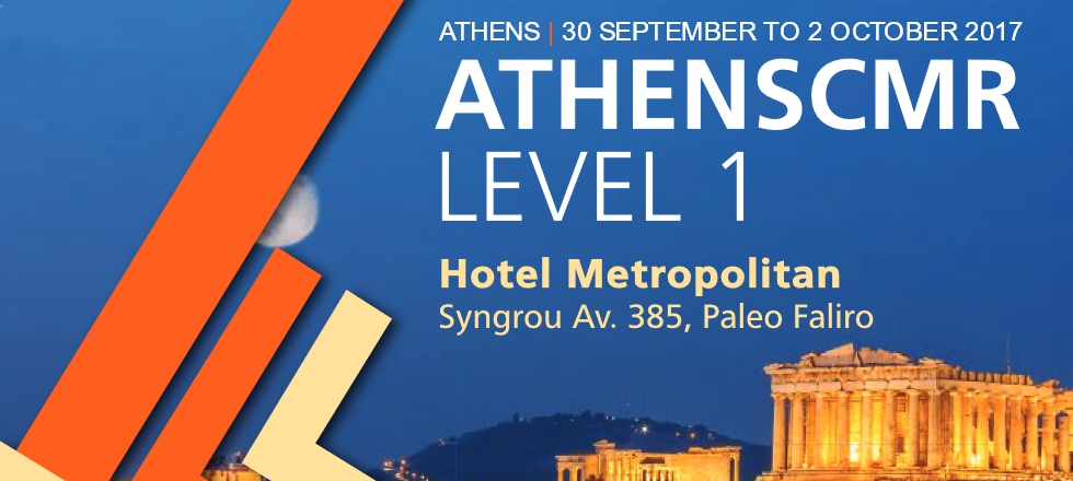 ATHENSCMR LEVEL 1 | 30 September - 2 October