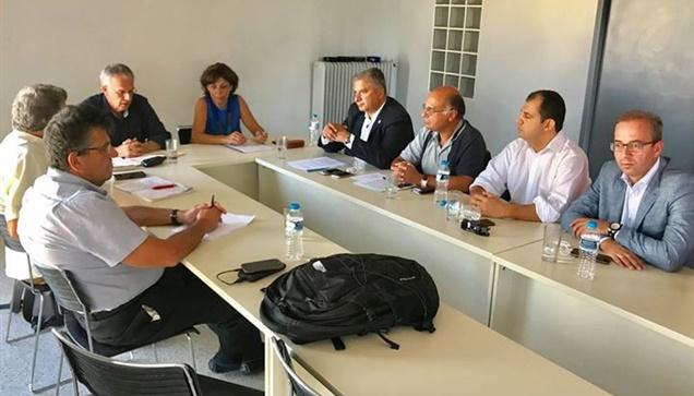 Συνάντηση με τον γραμματέα του ΣΥΡΙΖΑ Π. Ρήγα είχαν ο πρόεδρος...