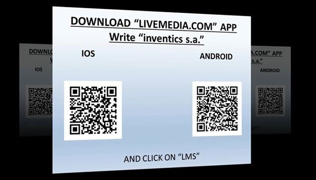 Download livemedia.com app an learn how to use Livemedia event...
