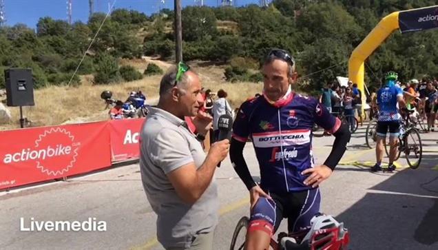 Με επιτυχία ολοκληρώθηκε η  13η Ποδηλατική ανάβαση Χορτιάτη που...